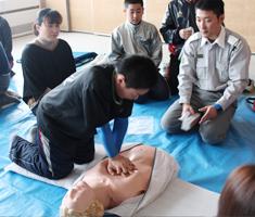ボランティア講座 心肺蘇生法